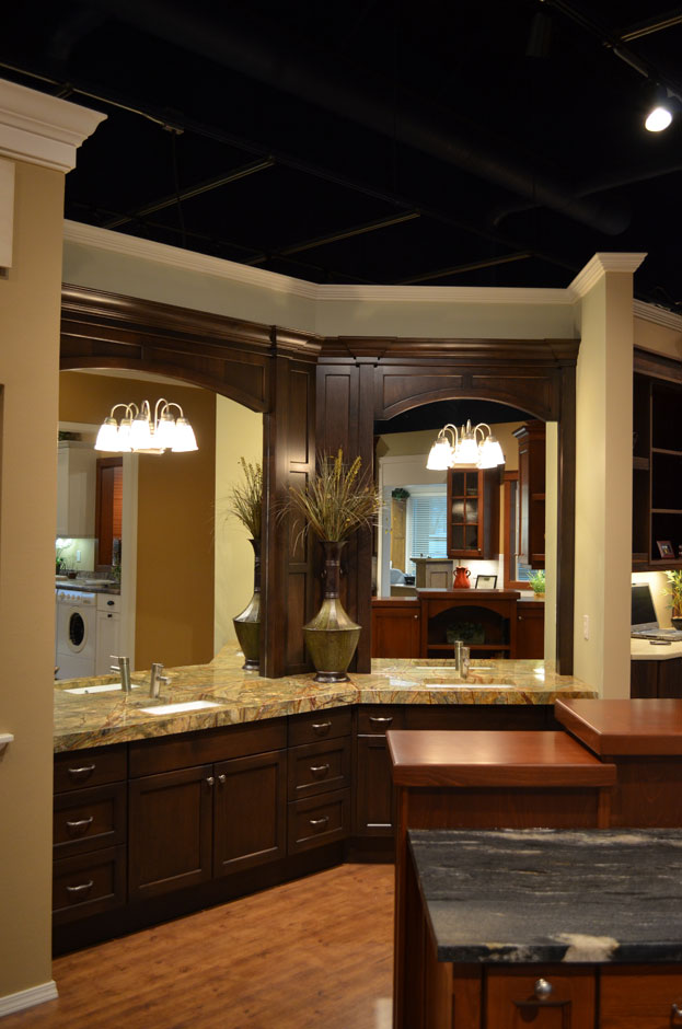 ... WA, Features Over Twenty Different Full Sized Displays Of Various Wood  Specie, Color And Style. Kitchens, Islands, Bathrooms, Libraries, Laundry  Rooms, ...